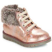 Cipők Lány Magas szárú edzőcipők GBB RENATA Rózsaszín