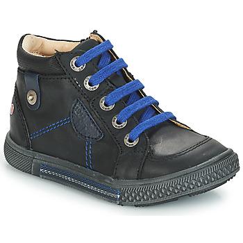 Cipők Fiú Magas szárú edzőcipők GBB RAYMOND Fekete