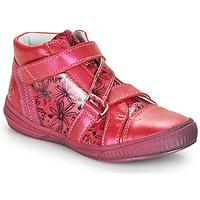 Cipők Lány Magas szárú edzőcipők GBB RADEGONDE Rózsaszín