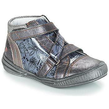 Cipők Lány Csizmák GBB RADEGONDE Szürke / Kék