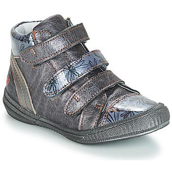 Cipők Lány Csizmák GBB RAFAELE Kék / Szürke