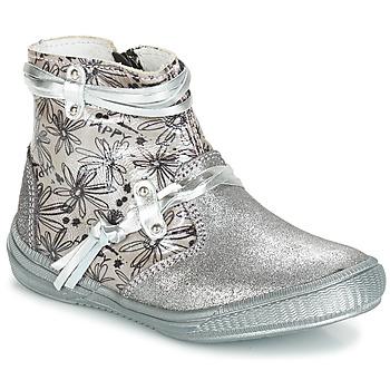 Cipők Lány Csizmák GBB REVA Ezüst