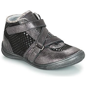 Cipők Lány Csizmák GBB RIQUETTE Szürke / Fekete