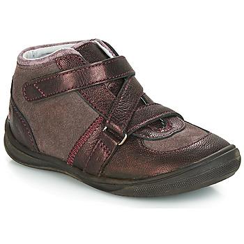 Cipők Lány Csizmák GBB RIQUETTE Barna / Bronz