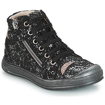 Cipők Lány Magas szárú edzőcipők GBB DESTINY Fekete