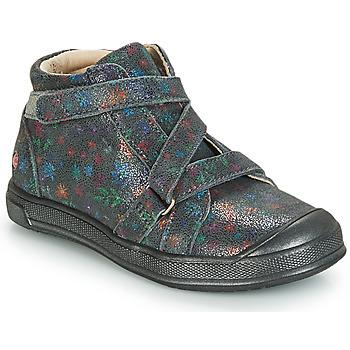 Cipők Lány Magas szárú edzőcipők GBB NADEGE Szürke