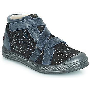 Cipők Lány Magas szárú edzőcipők GBB NADEGE Kék / Fekete