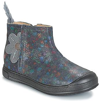 Cipők Lány Csizmák GBB ROMANE Szürke
