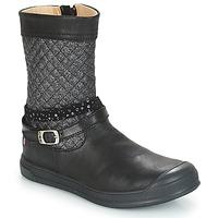 Cipők Lány Városi csizmák GBB ROLANDE Fekete