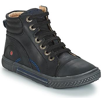 Cipők Fiú Magas szárú edzőcipők GBB RALPH Fekete