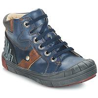 Cipők Fiú Magas szárú edzőcipők GBB RENZO Kék