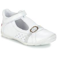 Cipők Lány Balerina cipők / babák GBB SALOME Fehér