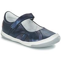 Cipők Lány Balerina cipők / babák GBB SYRINE Vte / Tengerész / Dpf / Dinda