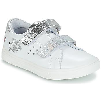 Cipők Lány Városi csizmák GBB SANDRA Vte / Fehér-ezüst / Dpf / Dolby