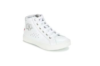 Cipők Lány Magas szárú edzőcipők GBB SERAPHINE Fehér