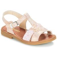 Cipők Lány Szandálok / Saruk GBB SHANTI Rózsaszín
