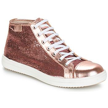 Cipők Lány Csizmák GBB IMELDA Svt / Rózsaszín-arany / Dpf / 2835