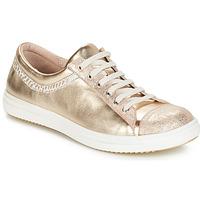 Cipők Lány Csizmák GBB GINA Vte / Bézs-arany