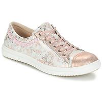 Cipők Lány Rövid szárú edzőcipők GBB GINA Rózsaszín