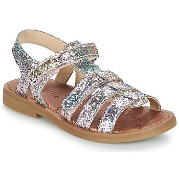 Cipők Lány Szandálok / Saruk GBB KATAGAMI Tts / Rózsaszín / Többszínű / Dpf / 2794