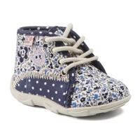 Cipők Lány Mamuszok GBB PAT Ttx / Tengerész kék-virág / Dtx / Amis