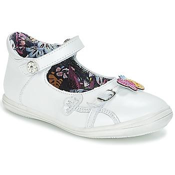 Cipők Lány Balerina cipők / babák Catimini SITELLE Fehér