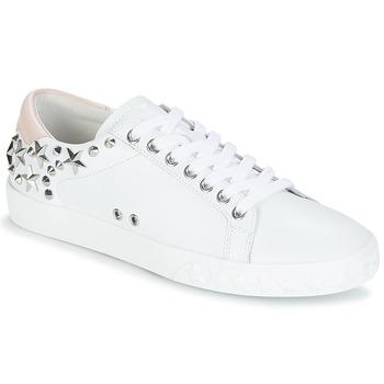 Cipők Női Rövid szárú edzőcipők Ash DAZED Fehér / Rózsaszín