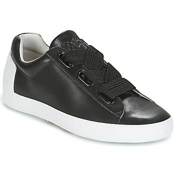 Cipők Női Rövid szárú edzőcipők Ash NINA Fekete