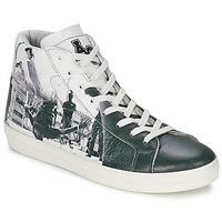 Cipők Férfi Magas szárú edzőcipők American College BREAKDANCE Fekete  / Fehér