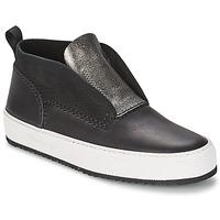 Cipők Női Magas szárú edzőcipők Barleycorn CLASSIC Fekete