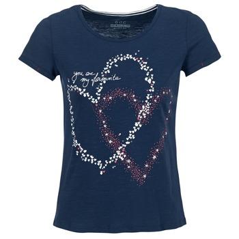 Ruhák Női Rövid ujjú pólók Esprit WEJA Tengerész