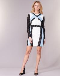 Ruhák Női Rövid ruhák Morgan RLIXI Fehér / Fekete  / Kék