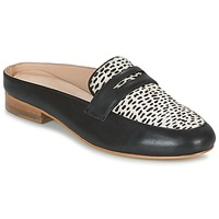 Cipők Női Papucsok Maruti BELIZ Fekete  / Fehér