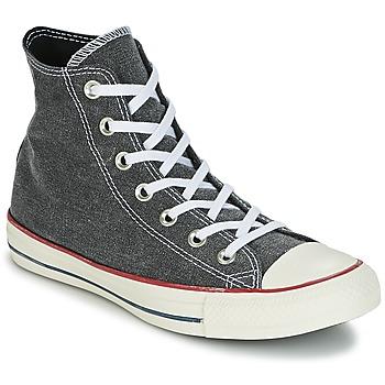 Cipők Magas szárú edzőcipők Converse Chuck Taylor All Star Hi Stone Wash Szürke