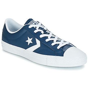 Cipők Rövid szárú edzőcipők Converse Star Player Ox Leather Essentials Tengerész