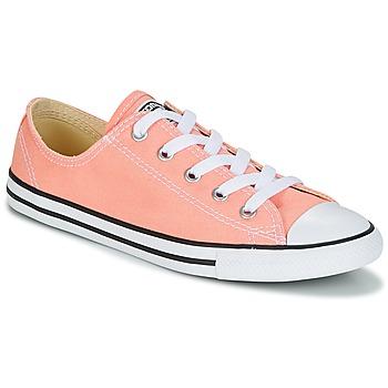Cipők Női Rövid szárú edzőcipők Converse Chuck Taylor All Star Dainty Ox Canvas Color Rózsaszín