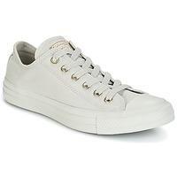 Cipők Női Rövid szárú edzőcipők Converse Chuck Taylor All Star Ox Mono Glam Canvas Color Szürke