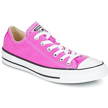 Cipők Női Rövid szárú edzőcipők Converse Chuck Taylor All Star Ox Seasonal Colors Rózsaszín