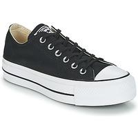 Cipők Női Rövid szárú edzőcipők Converse Chuck Taylor All Star Lift Clean Ox Core Canvas Fekete