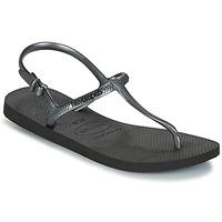 Cipők Női Szandálok / Saruk Havaianas FREEDOM SL Fekete