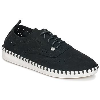 Cipők Női Oxford cipők Les P'tites Bombes DIVA Fekete