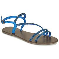 Cipők Női Szandálok / Saruk Les Petites Bombes NELLY Kék