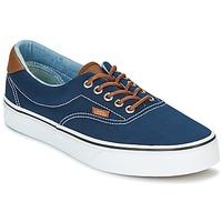 Cipők Férfi Rövid szárú edzőcipők Vans ERA Kék