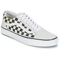Cipők Rövid szárú edzőcipők Vans OLD SKOOL Fehér / Fekete