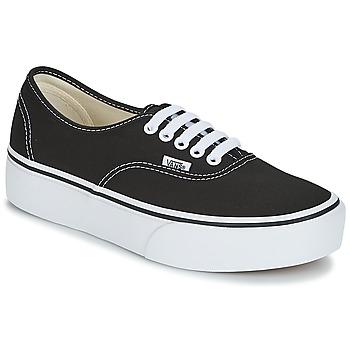 Cipők Női Rövid szárú edzőcipők Vans AUTHENTIC Fekete f8266f69c3