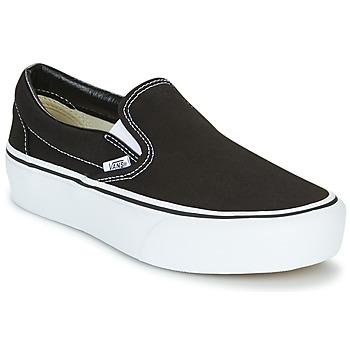 Cipők Női Belebújós cipők Vans SLIP-ON PLATFORM Fekete