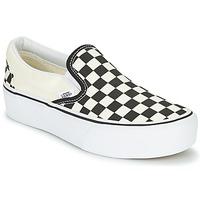 Cipők Női Belebújós cipők Vans SLIP-ON PLATFORM Fekete  / Fehér