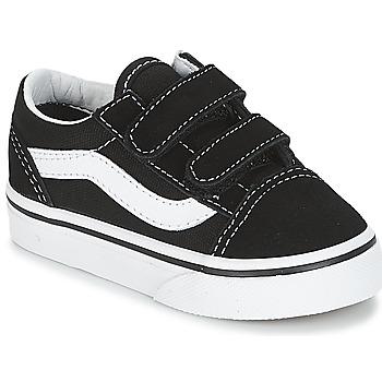 Cipők Gyerek Rövid szárú edzőcipők Vans OLD SKOOL V Fekete
