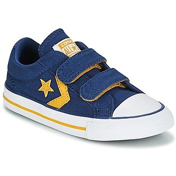 Cipők Fiú Rövid szárú edzőcipők Converse Star Player EV 2V Ox Sport Canvas Kék