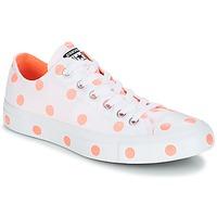 Cipők Női Rövid szárú edzőcipők Converse Chuck Taylor All Star-Ox Fehér / Narancssárga